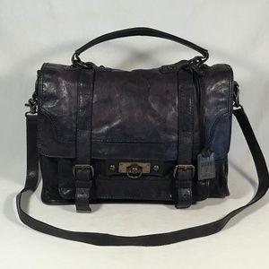 """Frye """"Cameron Satchel"""" Leather Bag, EUC"""